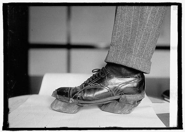 Такую «коровью» обувь носили американские самогонщики
