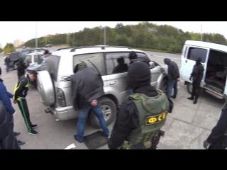Оперативные съемки. ФСБ. Задержание криминального авторитета «Ерша»