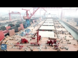 В Китае почти достроили самый большой в мире балкер