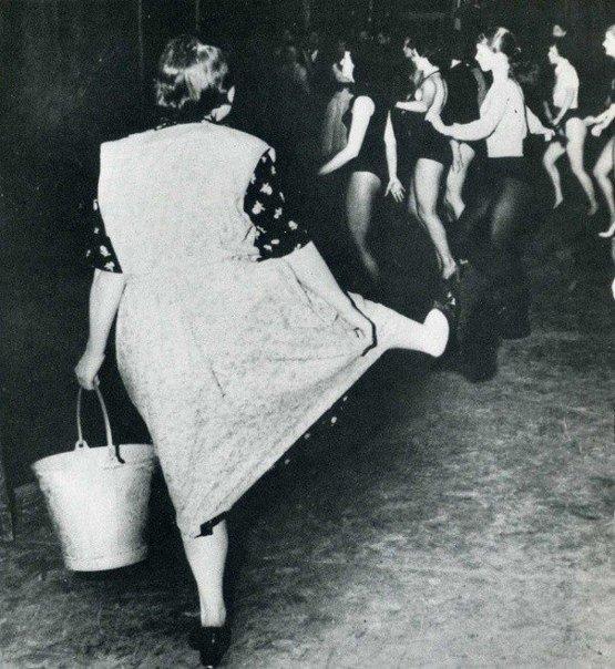 Уборщица на танцах в Лондоне не смогла