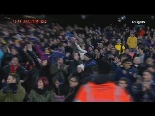 Барселона - Реал Сосьедад. Гол Д. Суареса