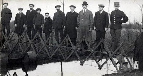 Раскладной переносной мост, 1926 г.