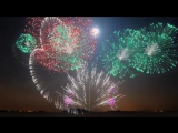 New Years 2013 - Synchronized Epic Music (Heart of Courage) - FWSim Fireworks Display - HD
