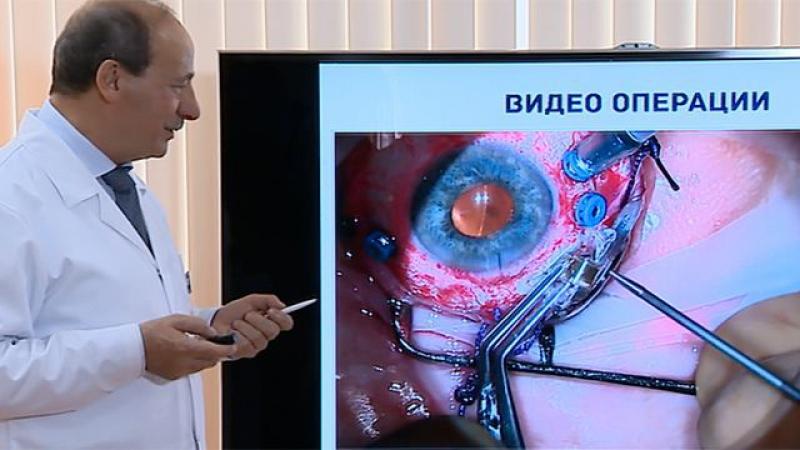 Россия. Показали вживлённый человеку бионический глаз