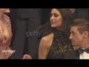 Jeremy Renner, Julia Jones, Elizabeth Olsen, Taylor and Nicole Sheridan at Wind River Red Carpet at Cannes Film Festival