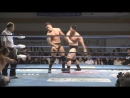 The Big Guns The Bodyguard, Zeus c vs. Okami Daichi Hashimoto, Hideyoshi Kamitani AJPW - Yokohama Twilight Blues Vol.5