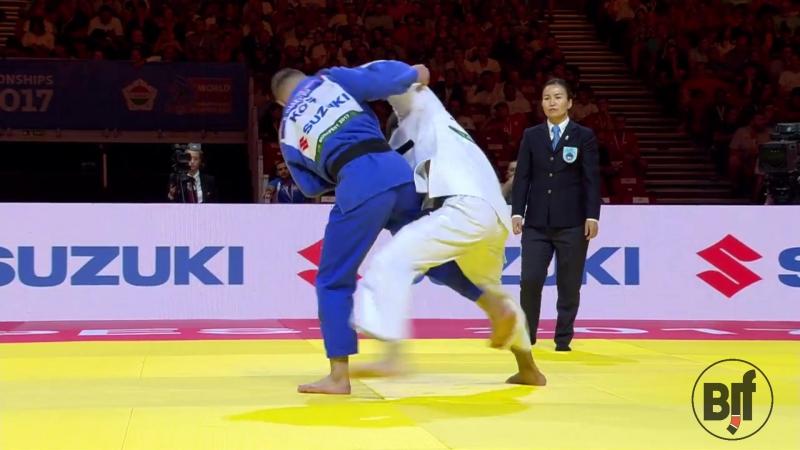 ORUJOV Rustam AZE def GJAKOVA Akil KOS bjf judo