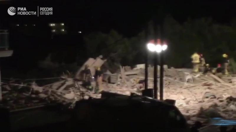 Последствия взрыва в Альфканаре