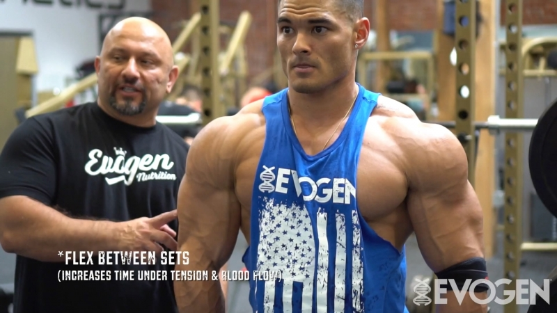 Jeremy Buendia Trains Shoulders Abs - 7 Weeks Out from Mr.Olympia 2017