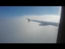 A-320 пробивает облачность