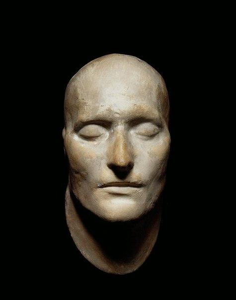 Посмертная маска Наполеона Бонапарта. 1821 г.