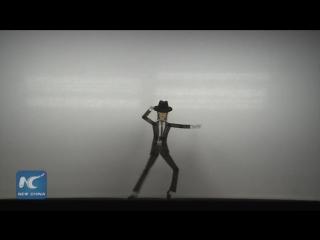 Майкл Джексон в китайском театре теней
