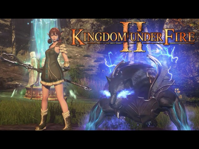 Kingdom Under Fire 2 - Elementalist Skills - Field Questing Gameplay