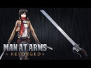 3D Maneuver Gear Sword Attack on Titan MAN AT ARMS REFORGED