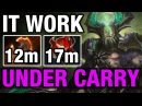 IT WORK! - UNDERLORD HARD CARRY - Ahjit WITH BATTLE FURY - Dota 2