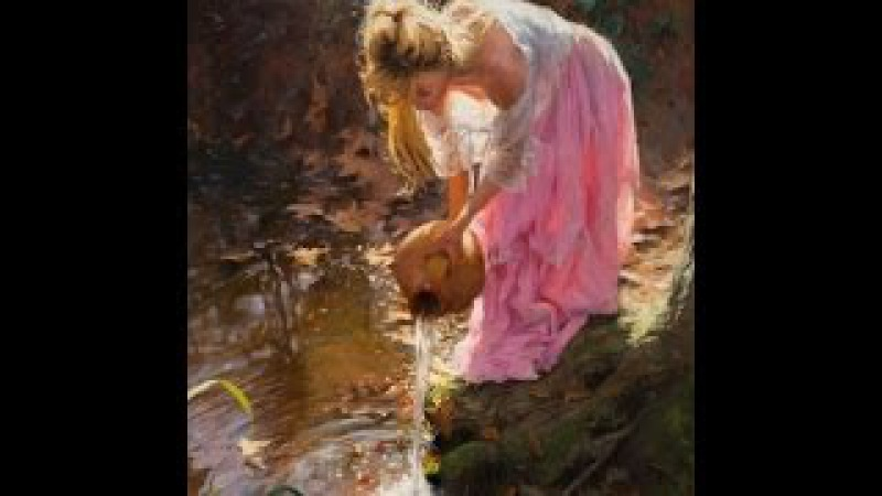 Vincente Romero Redondo - Spanish Painter ✽ Helen O'Hara -The Dawning of the day