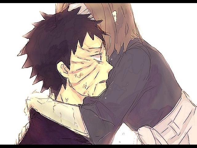 Обито и Рин   Я такую как ты, никогда не забуду...