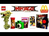 2017 McDONALDS LEGO NINJAGO MOVIE HAPPY MEAL TOYS FULL SET 6 KIDS WORLD COLLECTION UNBOXING REVIEW