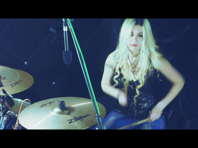 THREE DAYS GRACE - I HATE EVERYTHING ABOUT YOU - DRUM COVER BY ALENA KAUFMAN