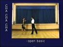 Cha-cha dance steps 03. Open basic