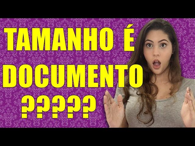 TAMANHO DE PAU É DOCUMENTO? com Dora Figueiredo
