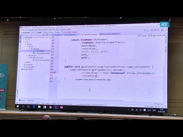 Code generation with Javac Plugin Oleksandr Radchykov Ukraine