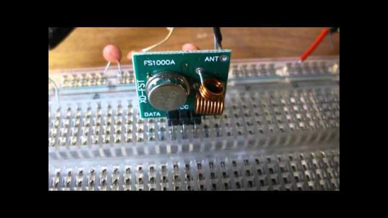 Передатчик 433мгц для рации на fs1000a
