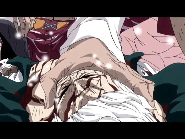 Doflamingo vs Smoker and Aokiji