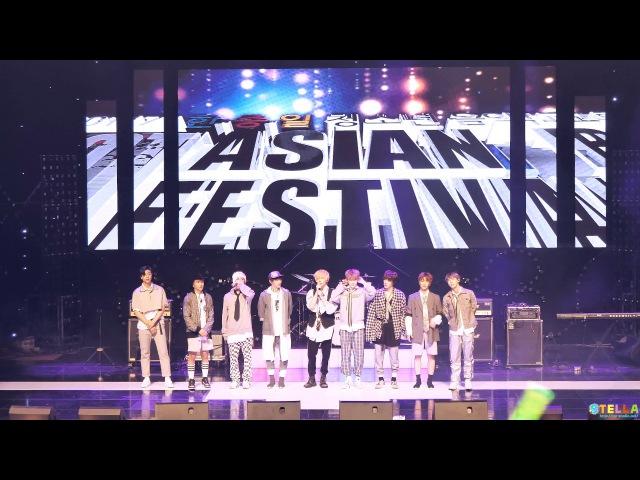 170729 NCT 127(엔시티) 무한적아0 MileCherry Bomb(Full ver.) [4K] /Asian Beat Festival
