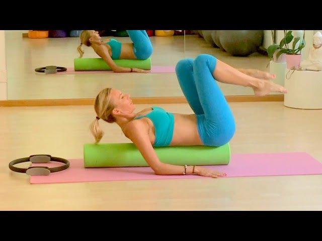 Mila Flex Method Pilates Roller workout spine corrector