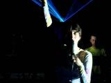 Oceanlab feat. Justine Suissa  - Satellite (Live PA)