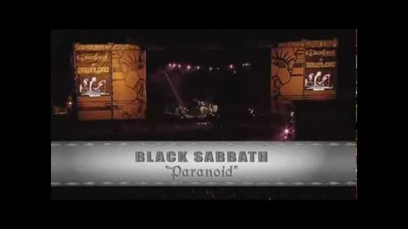 Black Sabbath Paranoid Download Festival Ozzfest 2005(HD)
