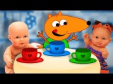 FOX FAMILY Baby Doll Drinking New Episode Surprise Eggs Finger Family Song Nursery Rhymes