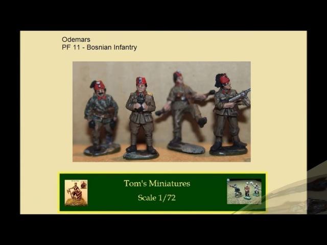Handschar Bosnian Infantry WWII Odemars 1 72 S01E16