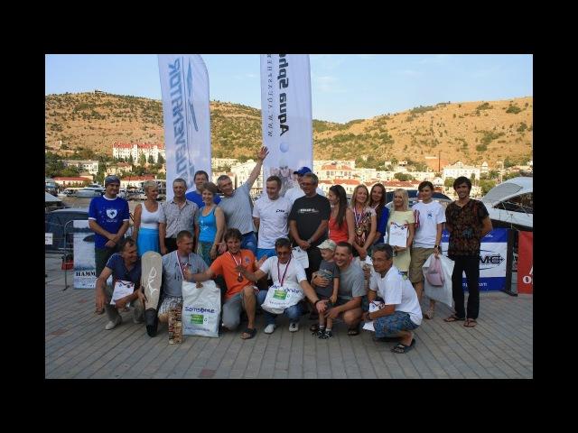 Церемония закрытия соревнований Открытый Чемпионат Крыма - Глубина 2017