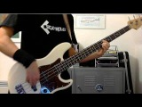 Muse Starlight bass cover, EHX Deluxe Bass Big Muff Pi