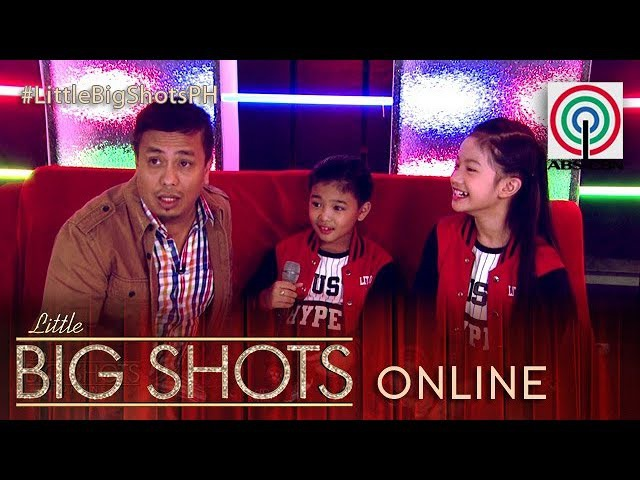 Little Big Shots Philippines Online: Jeromee and Thea | HipHop Dance Duo