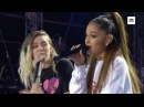 Ariana Grande Miley Cyrus - Don't Dream It's Over Live (One Love Manchester)