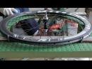 Birth of a Carbon Fiber Wheel 2016 (Pro-Lite Wheelbuilding in Taiwan)