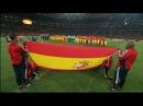 Himno de España en la Final de la Copa del Mundo 2010 de Sudáfrica. Estadio Soccer City