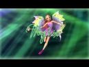 Winx Club - Flora All Full Transformations up to Tynix! HD