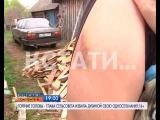 АНОНС: горячие головы - глава сельского совета деревянной дубиной избила свою односельчанку.