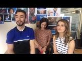 05.04.2017 видеоинтервью с Габриэллой, Гийомом и Натали Пешала