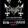 MAYHEM (Norway) || 03.06.17 || СПб (ClubZal)