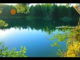 Поездка на голубое озеро