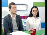 Айшат Ломия и Алиас Ардзинба в утренней передаче на АТ (26-01-17)