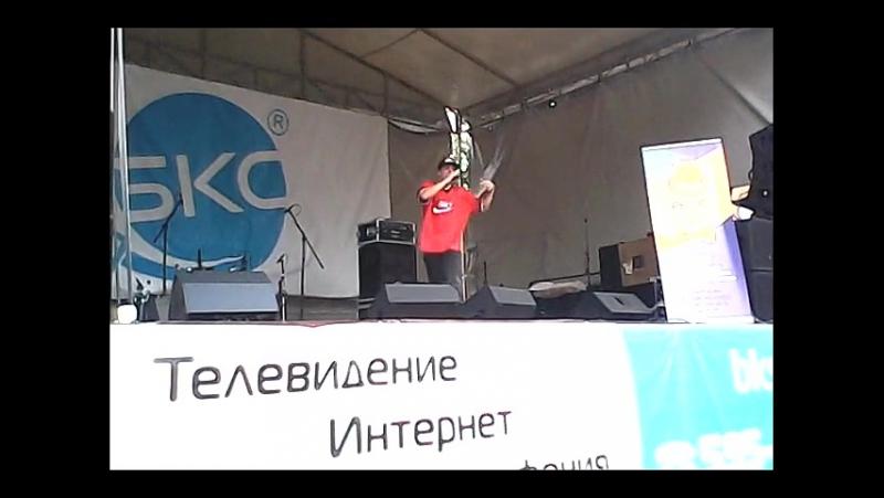 МиСта Камень - Raprezend г.Брянск День молодёжи 2014