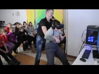 Виртуальная реальность от клуба пейнтбола и лазертага ПИРАНЬЯ