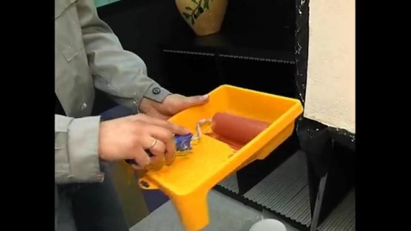 Мастер-класс по нанесению декоративной штукатурки Десан Рустик (Космос, Мазанка)