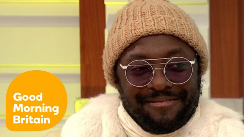 Good Morning Britain: will.i.am Reveals How He Deals With Untalented Contestants